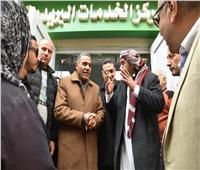 محافظ مطروح يفتتح مكتب بريد حي الشروق