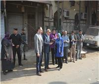 صور| بعد إزالة القمامة.. حي غرب شبرا الخيمة في ثوبه الجديد