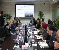 محافظ القليوبية ووزيرة البيئة يشاركان في اجتماع مواجهة تلوث الهواء بالقاهرة الكبرى
