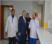 صور| جولة مفاجئة لمحافظ القليوبية على عدد من المستشفيات