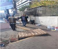 حملة مكبرة لرفع الإشغالات في مدينة نصر