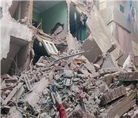 إصابة طالب في انهيار منزل بقنا