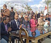 بدء فعاليات احتفالية المتحف الكبير لتسجيل رقم قياسي لمصر بـ«جينس»