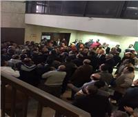 مشاداة كلامية بين مرتضى منصور ومؤيدي فرض رسوم على حديد العيدان بمجلس الدولة