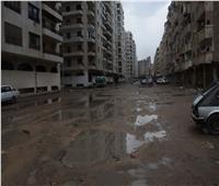 بالصور  «الفيضة الصغرى» تغرق قرية أبيس بالإسكندرية لليوم الخامس