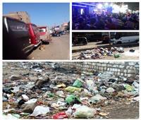 صور| أهالي شبرا الخيمة:«نعاني من القمامة والمجاري».. ونطالب برحيل رئيس الحي