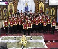 كنيسة العذراء والأنبا أبرآم  في إنجلترا تقيم احتفالا بـ الكريسماس