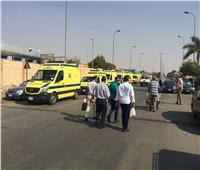 إصابة 7 أطفال في حادث تصادم بوادي النطرون