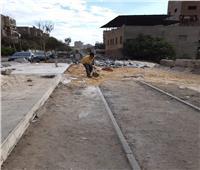 «السكة الحديد» تكشف تفاصيل وجود رمال على مزلقان الجيوشي