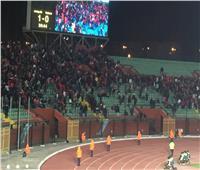 جماهير الأهلي تغادر مدرجات استاد السلام بمباراة بلاتنيوم