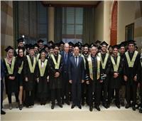 تخريج دفعة جديدة من كلية الدراسات العليا في الإدارة بالأكاديمية العربية