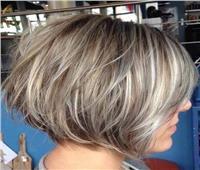 مصفف شعر:اللون الرمادي موضة كل المواسم