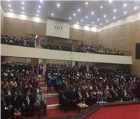 وزير الشباب والرياضة يلتقي شباب محافظة الوادي الجديد في حوار مفتوح