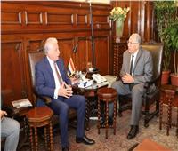 وزير الزراعة يبحث مع محافظ جنوب سيناء سبل تحقيق التنمية الزراعية