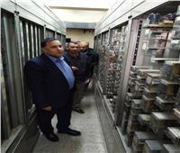 رئيس هيئة السكة الحديد يتفقد مواقع التشغيل بخط القاهرة - أسوان