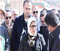 وزيرة الصحة: تسجيل 30 ألف مواطن في التأمين الصحي الشامل بجنوب سيناء