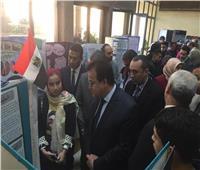 صور.. وزير التعليم العالي يفتتح مستشفى الأطفال التخصصي بجامعة الفيوم