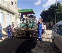 محافظ مطروح يتابع استكمال خطط رصف شوارع الأحياء السكنية