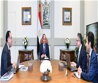 التفاصيل الكاملة لاجتماع الرئيس السيسي مع «مدبولي» و«العناني»