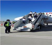 صور  مطار سفنكس الدولي يستقبل أول رحلة جوية لـ fly Jordan