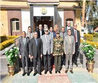 القوات المسلحة تنظم قافلة تنموية في أسيوط بالتعاون مع جامعة عين شمس