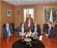 البورصة توقع اتفاقية تعاون مع جامعة المنصورة بشأن الاستثمار في سوق المال