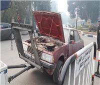 محافظ القاهرة يوجه برفع السيارات المهملة بالشوارع