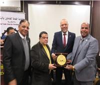 بحضور قيادات البترول.. «جبران» يفتتح مقر النقابة العامة بالإسكندرية