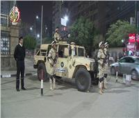 انتشار عناصر القوات المسلحة لتأمين احتفالات رأس السنة وعيد الميلاد المجيد