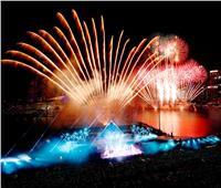 صور| احتفالات رأس السنة الجديدة في سنغافورة وماليزيا وإندونيسيا