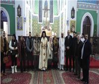 كاتدرائية القديس بطرس بطنطا تحتفل بأعياد رأس السنة
