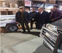 صور| محافظ كفر الشيخ يتفقد التمركزات الأمنية خلال احتفالات أعياد الميلاد