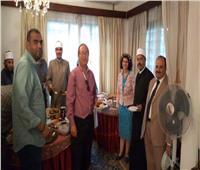سفارة مصر في بوروندي تقيم حفل غداء للجالية المصرية بمناسبة الاحتفال بالعام الجديد