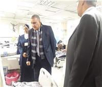 لجنة من صحة الغربية تتفقد مستشفي المحلة للوقوف علي الخدمات