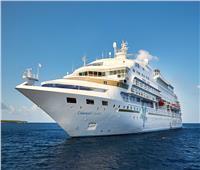 ميناء بورسعيد يستقبل أفخم السفن السياحية وعلى متنها 1296 راكبا