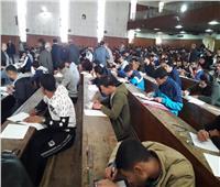 رئيس جامعة الأزهر يتفقد لجان امتحانات الفرقة الرابعة بكلية التربية الرياضية