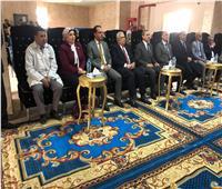 رئيس التأمين الصحي يفتتح تطويرات بفرع الهيئة بكفر الشيخ