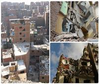 «بيوت على كف عفريت»| مبان تنهار على سكانها.. والتلاعب في مواد البناء «كلمة السر»