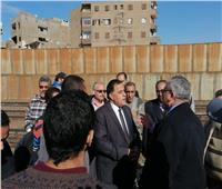 صور  جولة مفاجئة لرئيس «السكة الحديد» بمواقع التشغيل بخط القاهرة الإسكندرية