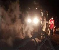 16 قتيلاً في تحطم طائرة عسكرية بالسودان
