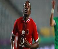 «الأهلي» يعلن موقف «أجايي» من مباراة نادي مصر