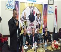 نجاح كبير لاحتفالية شاعر أرض القمر إبراهيم فراج