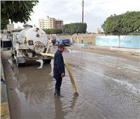 لموجة الأمطار.. الدفع بـ 470 معدة لرفع تراكمات المياه بالبحيرة