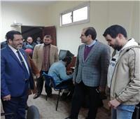 عامر يتفقد لجان امتحانات كليات جامعة الأزهر بمدينة نصر