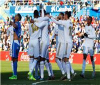 فيديو  نهاية الشوط الأول.. ريال مدريد يتقدم على خيتافي بهدف «فاران»