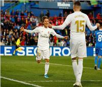 فيديو  ريال مدريد يكتسح خيتافي ويتصدر الدوري الإسباني مؤقتا