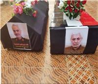 التلفزيون العراقي: نجل السيستاني يستقبل جثماني سليماني والمهندس في النجف