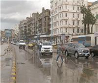 3 ملايين متر مكعب أمطار على الإسكندرية