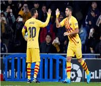شاهد| برشلونة يتعادل بصعوبة مع إسبانيول ويتقاسم الصدارة مع ريال مدريد