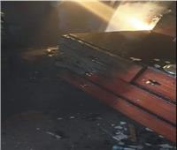 حريق شقة الفنانة نادية سلامة بمدينة 6 أكتوبر